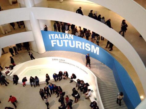 Italian Futurism: 1904-1944: Reconstructing the Universe, Solomon R. Guggenheim Museum