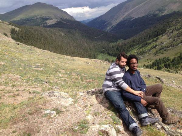 12,000ft high in the Rocky Mountains, CO.