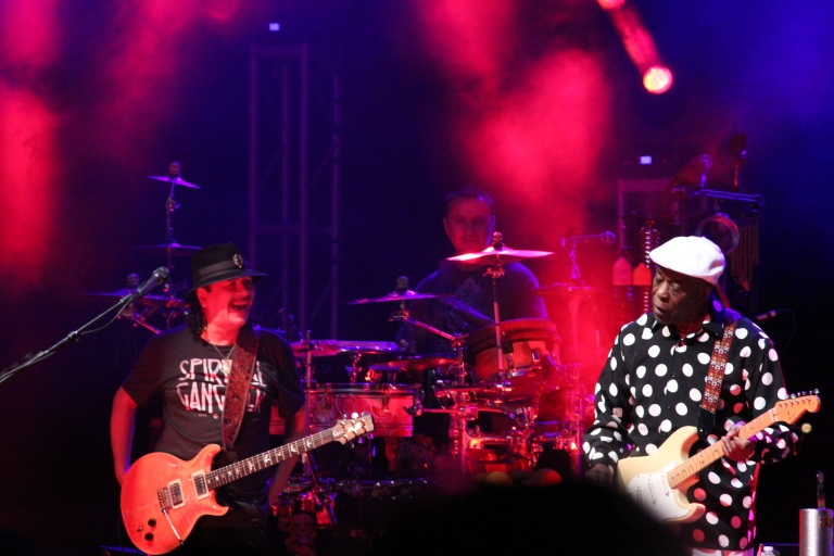 Santana and Buddy Guy