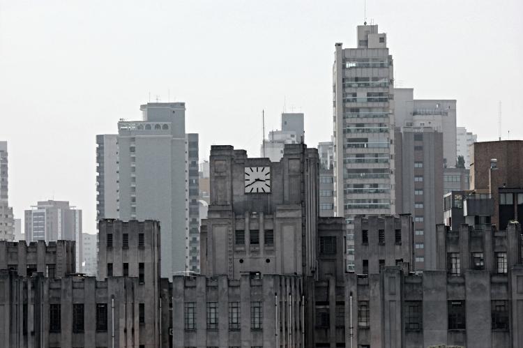 Rooftop view of the Museu de Arte Contemporânea da Universidade de São Paulo.